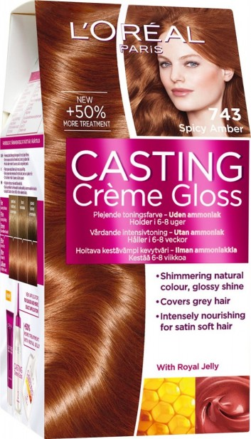 Casting Gloss Hair Dye Y Amber 743 Brown At Online Ping Farjazz Pk