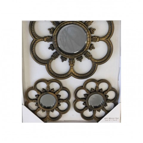 Buy Decorative 3 Piece Mirror Set at Online Shopping Store ...