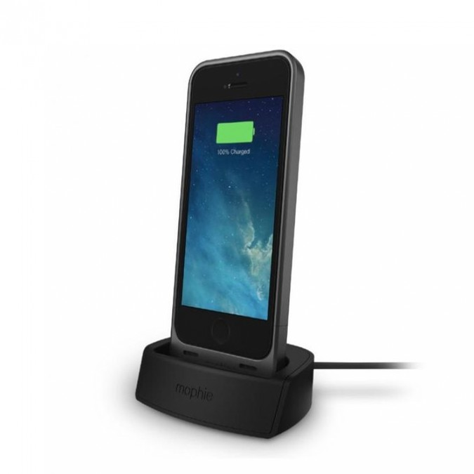 info for 7a39f 607ea Buy Mophie iPhone SE/5s/5c/5 Battery Case & Dock - Black at Online Shopping  Store | Farjazz.pk