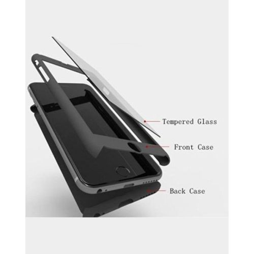 new products 331b6 8548c Buy 360 Degree Protection Case And Tempered Glass For Infinix Note 4 X572 -  Ipaky Design - Black at Online Shopping Store | Farjazz.pk