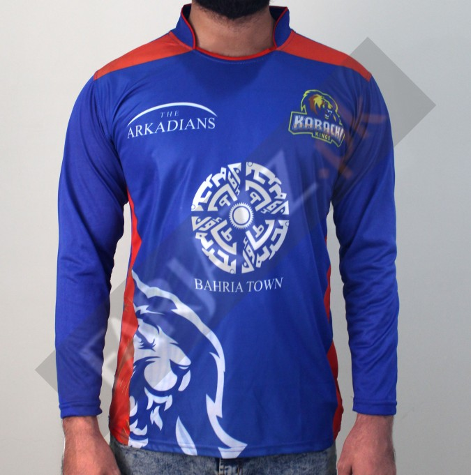 8b8e591939e6c5 Buy Karachi king Graphic Printed T-Shirt - Blue at Online Shopping Store